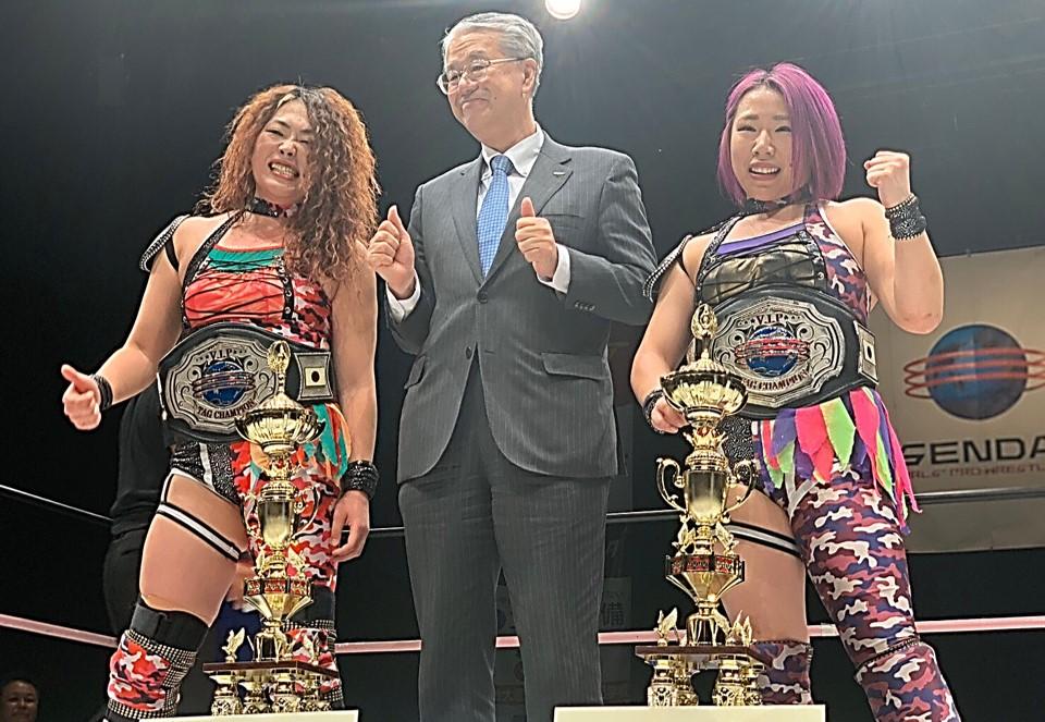 Sendai Girls: DASH Chisako y Hiroyo Matsumoto siguen reinando 2