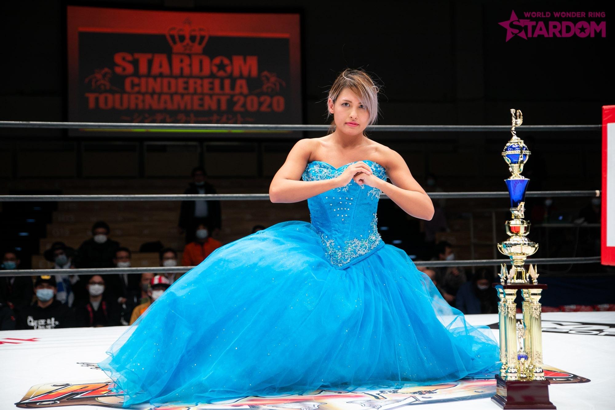 "Stardom: Giulia se lleva el ""Cinderella Tournament 2020"", va tras Arisa Hoshiki 3"