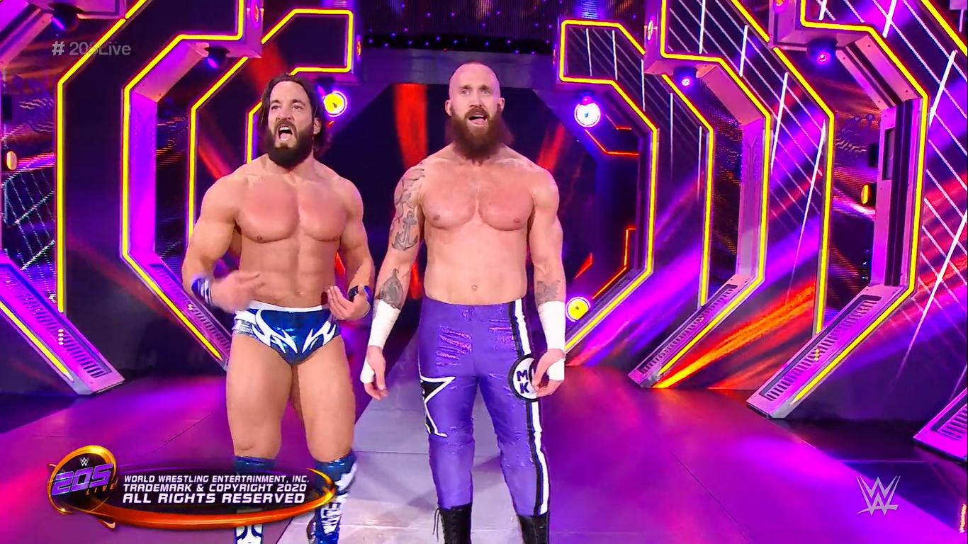 205 LIVE (6 de marzo 2020) | Resultados en vivo | 205 Live vs. NXT 20