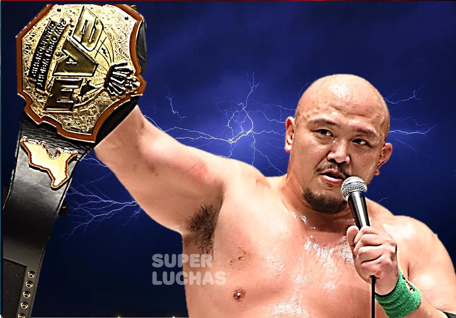 """2AW: """"Grand Slam in Korakuen Hall"""" Yuji Okabayashi nuevo campeón 1"""