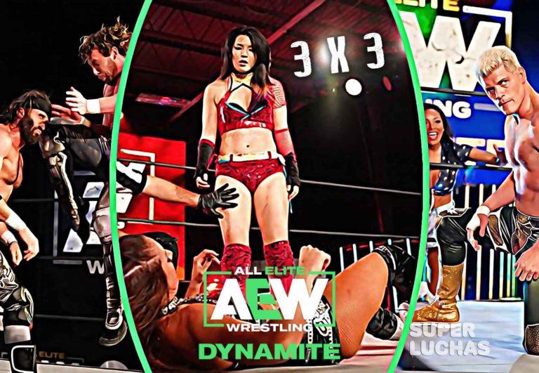3 x 3: Lo mejor y lo peor de AEW Dynamite 8 de abril 2020