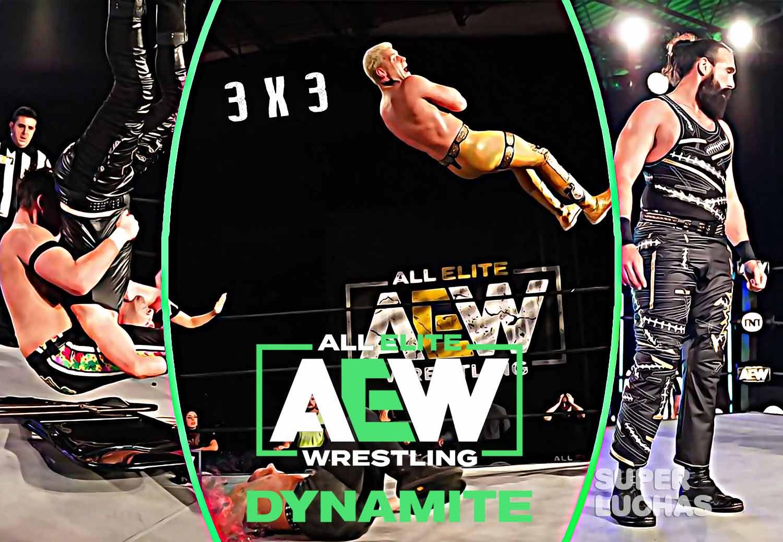 3 x 3: Lo mejor y lo peor de AEW Dynamite 29 de abril 2020