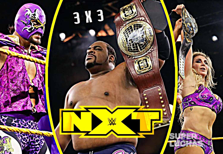 3 x 3: Lo mejor y lo peor de NXT 29 de abril 2020