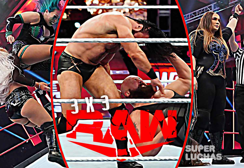3 x 3: Lo mejor y lo peor de Raw 6 de abril 2020
