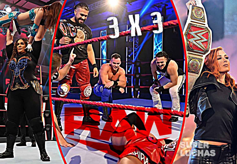 3 x 3: Lo mejor y lo peor de Raw 13 de abril 2020