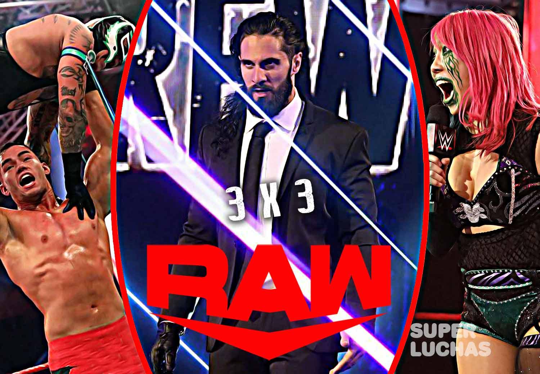 3 x 3: Lo mejor y lo peor de Raw 27 de abril 2020