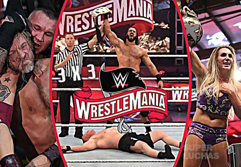 3 x 3: Lo mejor y lo peor de WrestleMania 36 Parte 2
