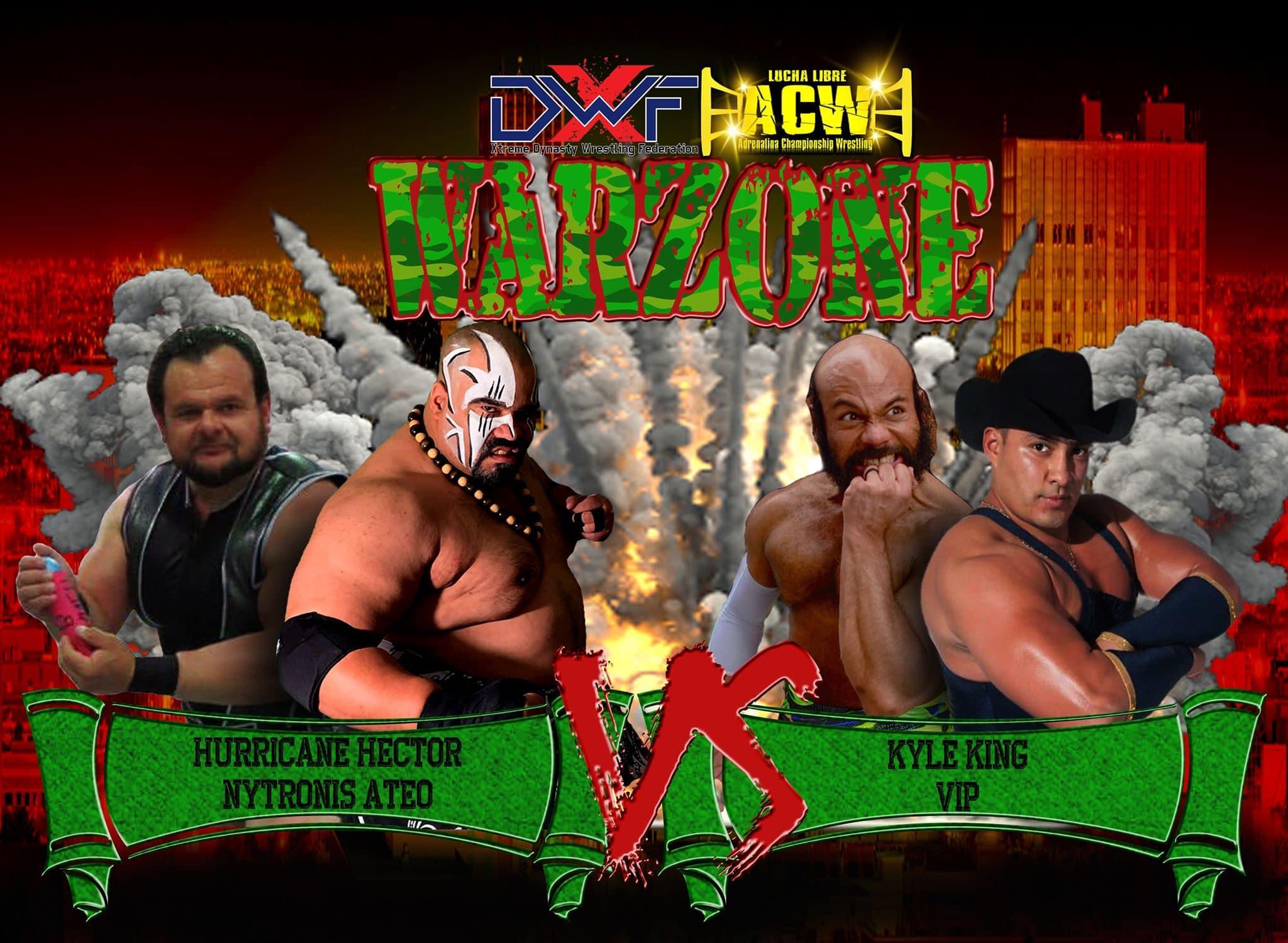 XDWF: La empresa presenta Warzone en El Paso, Texas 81
