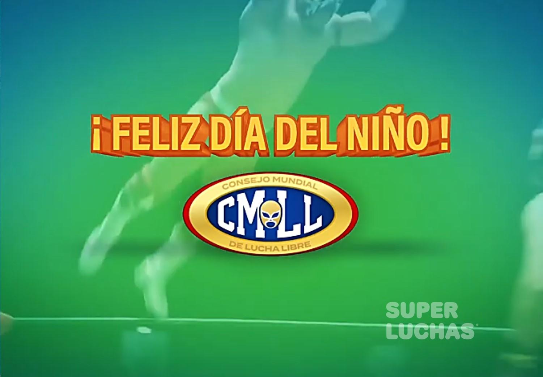 Las estrellas del CMLL celebran el Día del Niño 2020 1