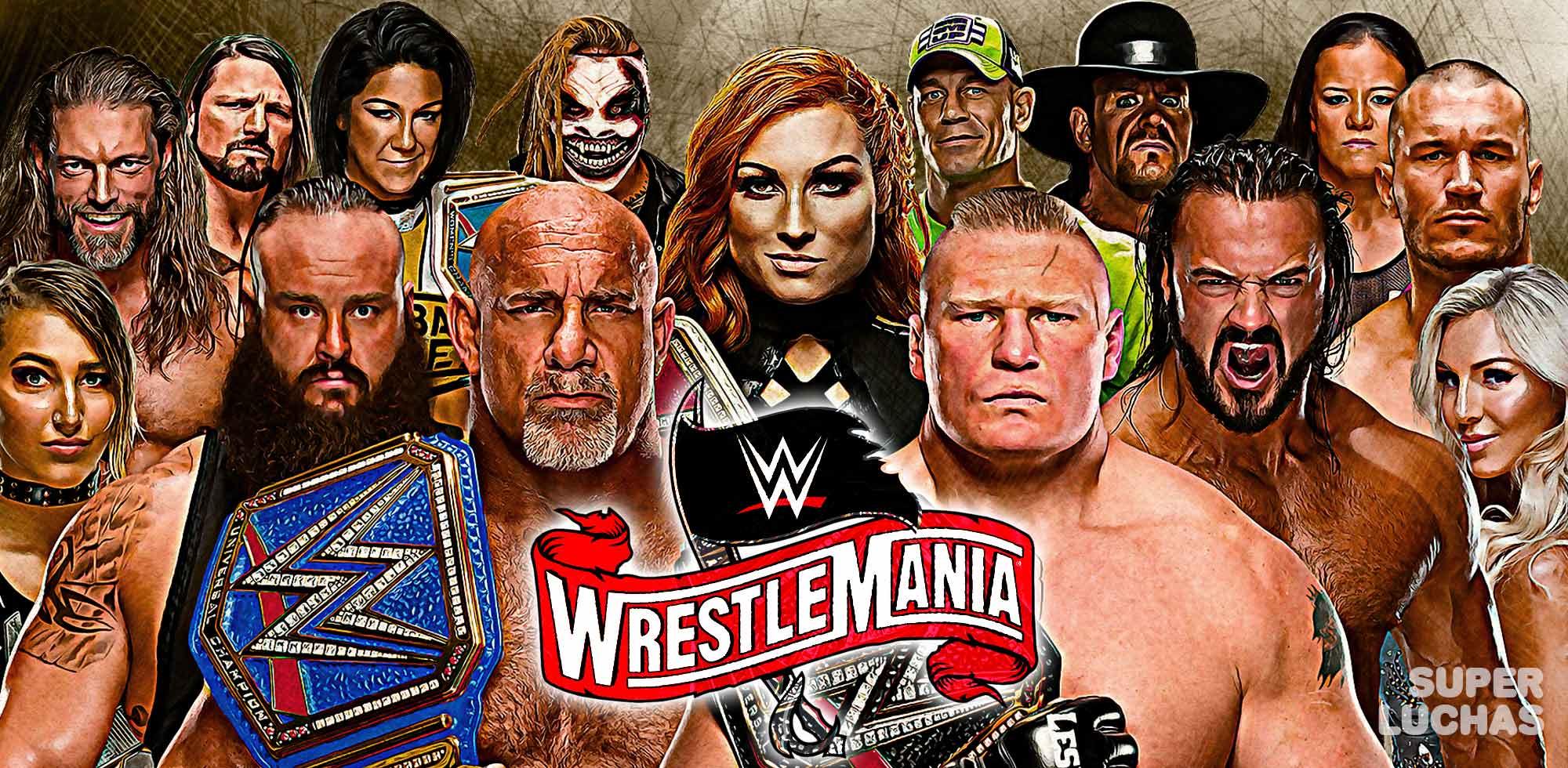 Resultados WrestleMania 36