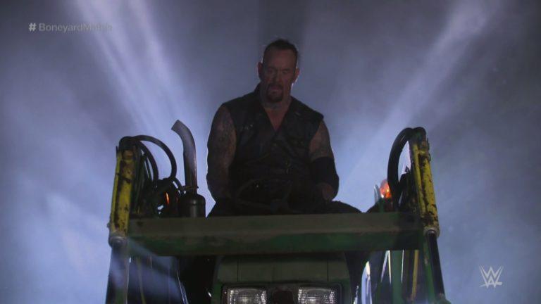 The Undertaker vence a AJ Styles en WWE WrestleMania 36 (04/04/2020) / WWE