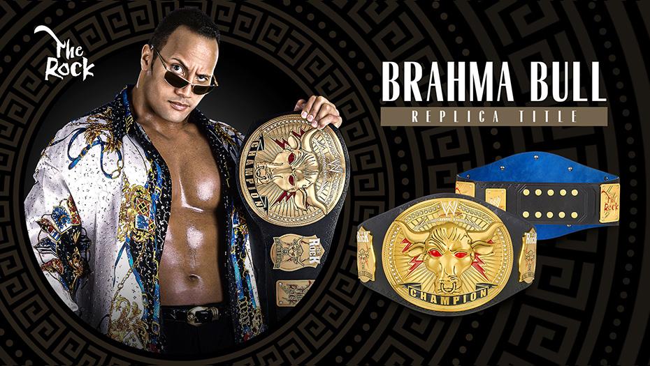 WWE Brahma Bull Championship / WWEShop.com Triple H y The Rock