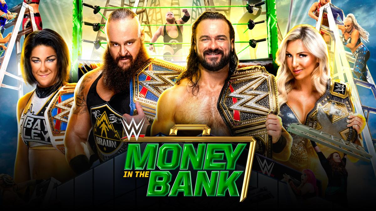 WWE Money in the Bank 2020 Nuevo formato para Money in the Bank 2020