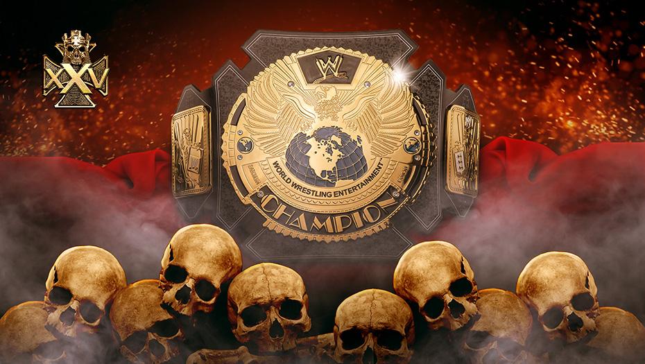 WWE Triple H 25 Years Championship / WWEShop.com Triple H y The Rock