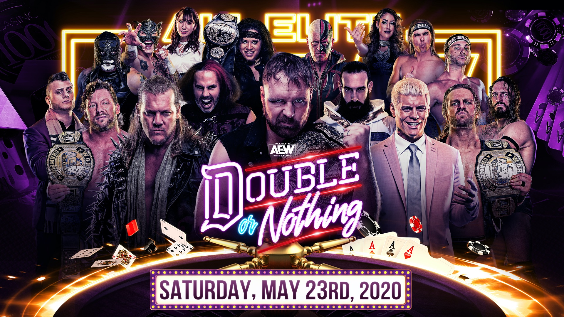 More additions to the AEW Double or Nothing 2020 lineup