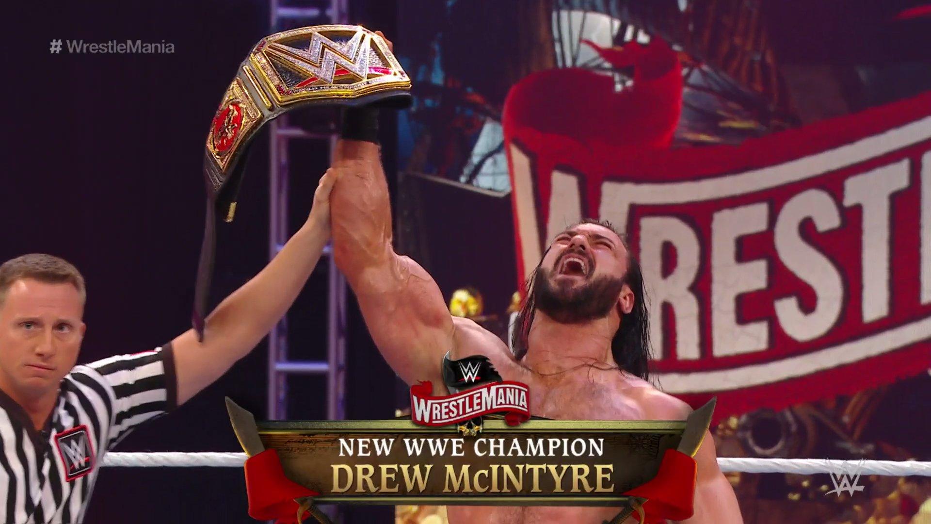 WWE WRESTLEMANIA 36 (5 de abril 2020) | Resultados en vivo | La segunda noche 77