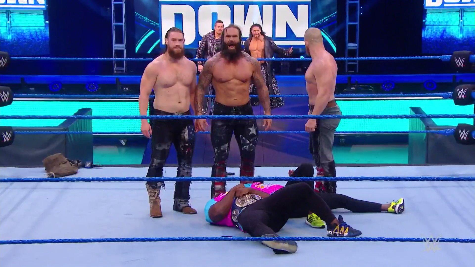 WWE SMACKDOWN (24 de abril 2020) | Resultados en vivo | 25 años de Triple H 4