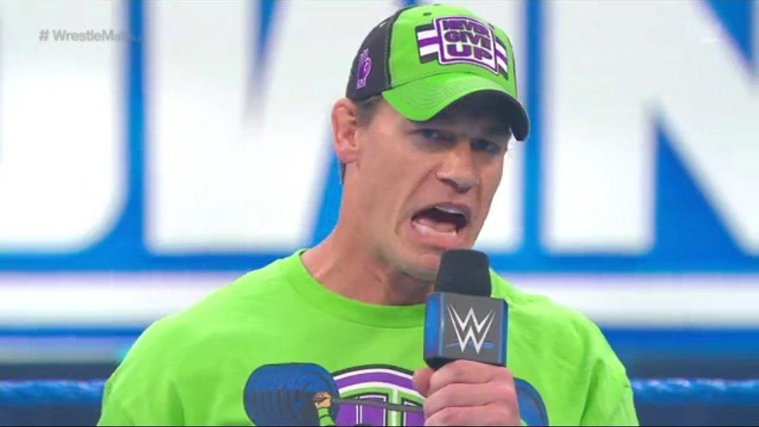 WWE SMACKDOWN (3 de abril 2020)   Resultados en vivo   A un día de WrestleMania 36 27