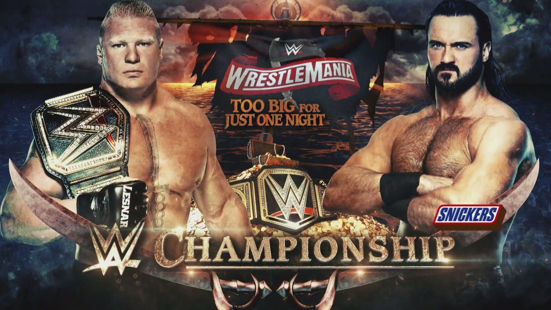 WWE WRESTLEMANIA 36 (5 de abril 2020) | Resultados en vivo | La segunda noche 13