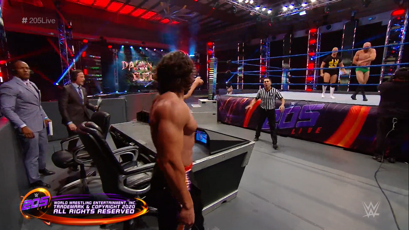 campeón interino de peso crucero NXT