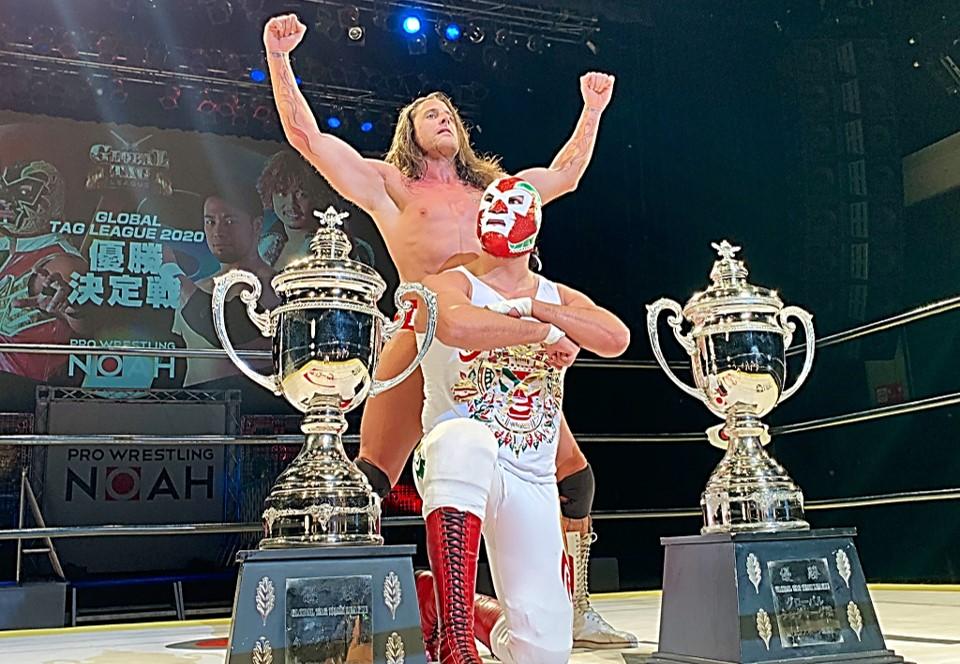 """NOAH: """"Global Tag League 2020"""" Gran Final - Histórico triunfo mexico-canadiense 13"""