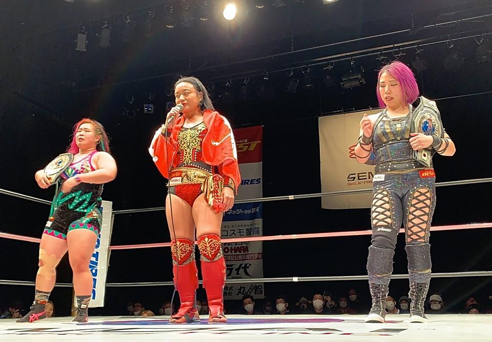 "Sendai Girls: ""Jaja Uma Tournament Opener"" Inicia la competencia 135"