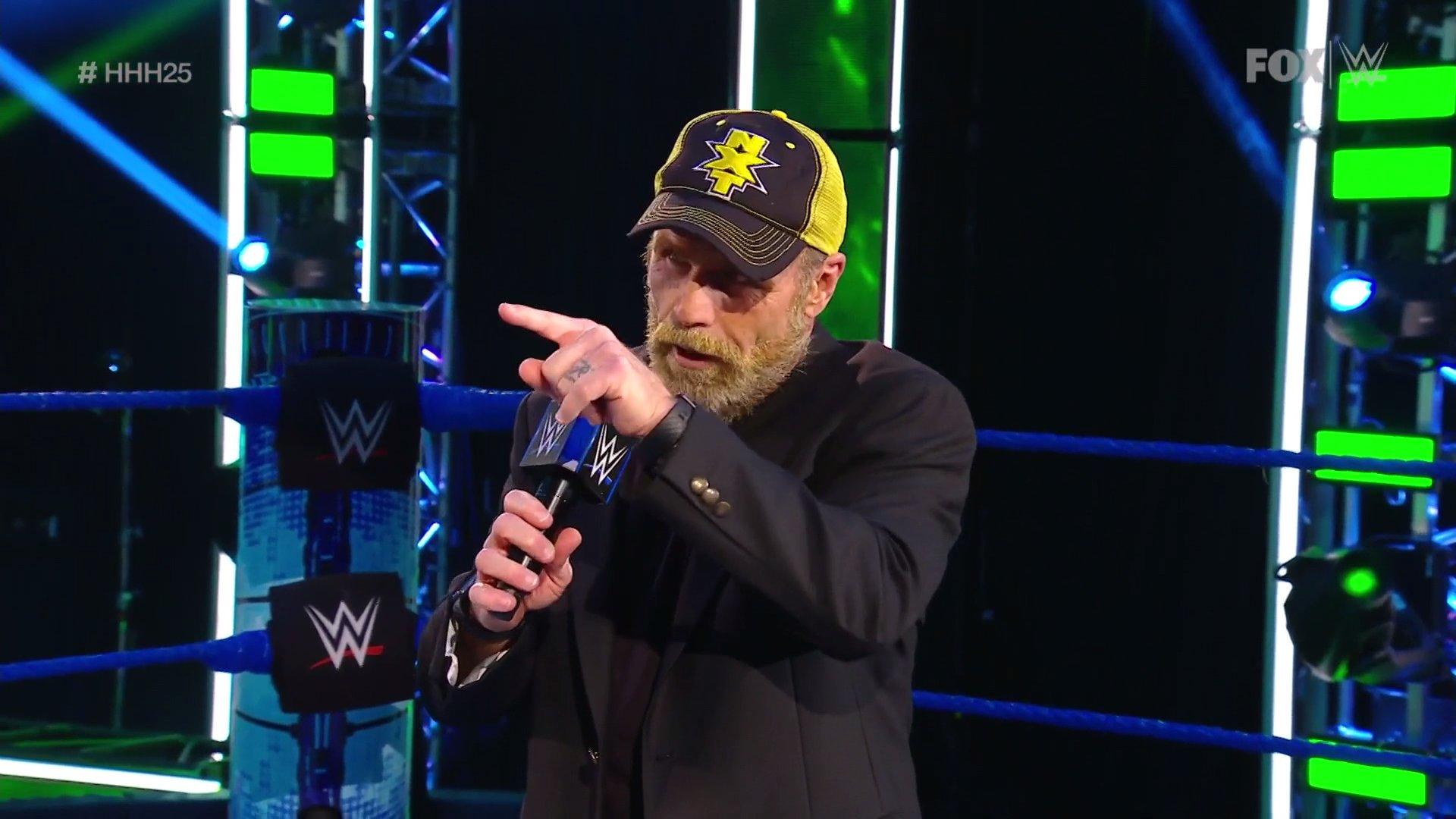 WWE SMACKDOWN (24 de abril 2020) | Resultados en vivo | 25 años de Triple H 28