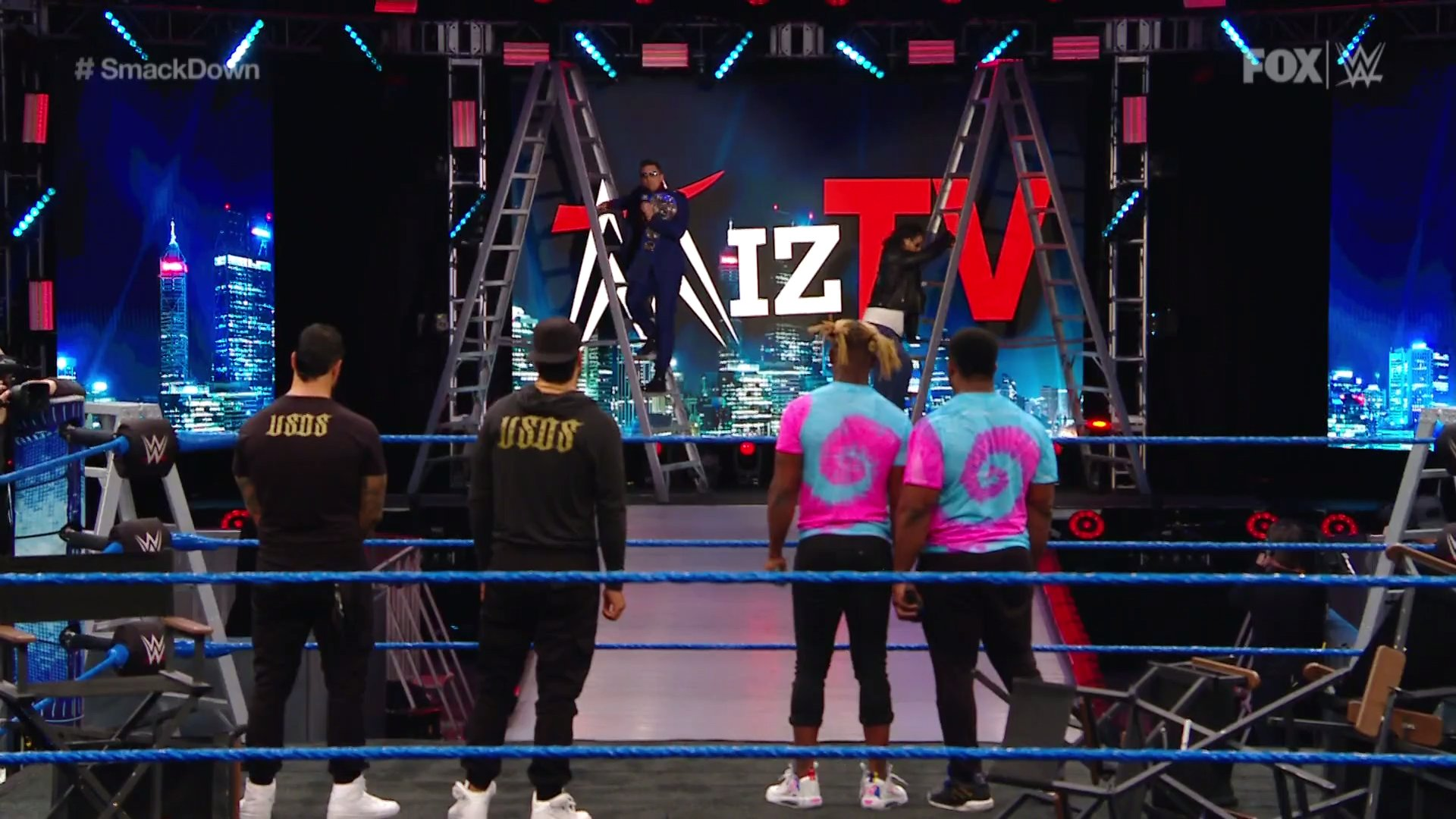 WWE SMACKDOWN (3 de abril 2020)   Resultados en vivo   A un día de WrestleMania 36 2