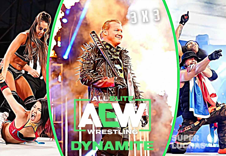 3 x 3: Lo mejor y lo peor de AEW Dynamite 13 de mayo 2020