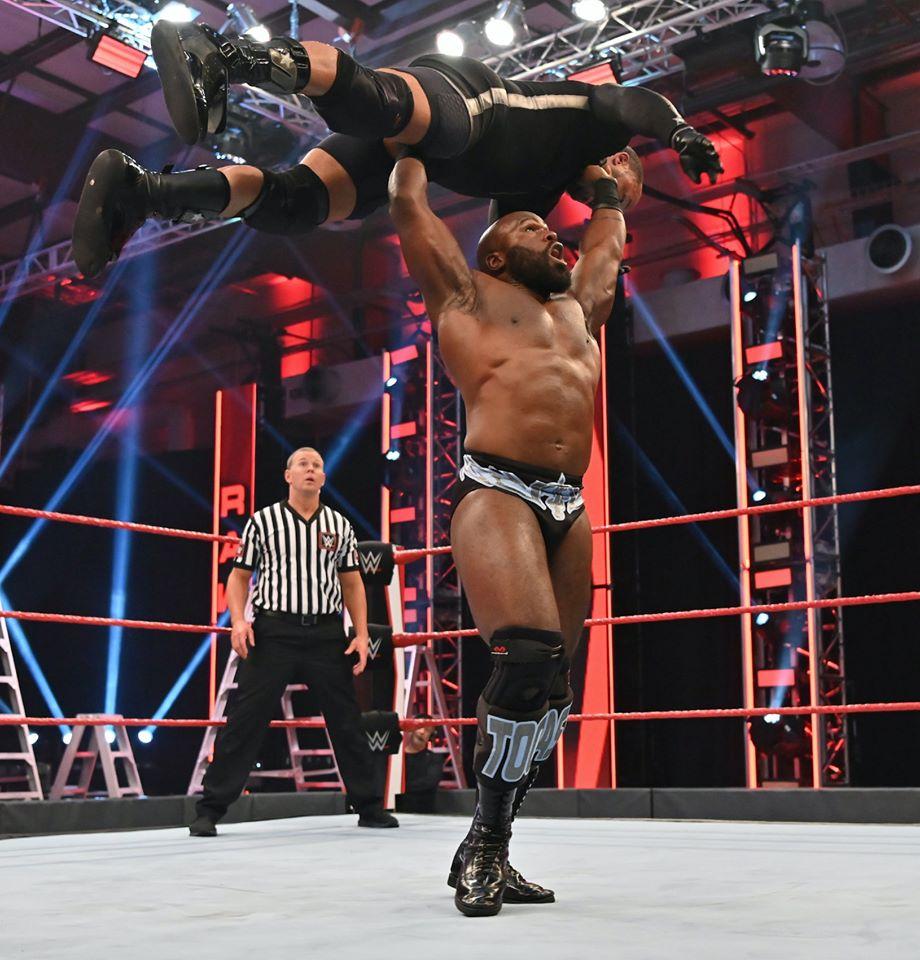 Apollo Crews Apollo Crews NUEVO Campeón de los Estados Unidos WWE