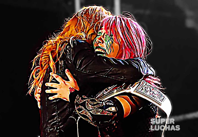 Becky Lynch Asuka