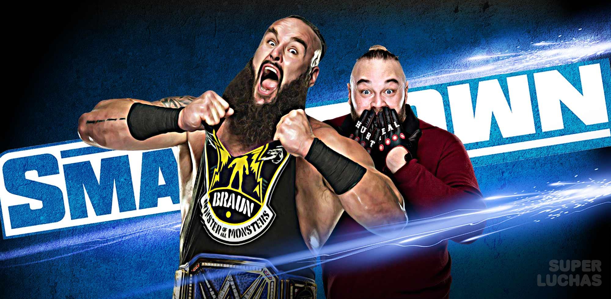 WWE SMACKDOWN 8 de mayo 2020
