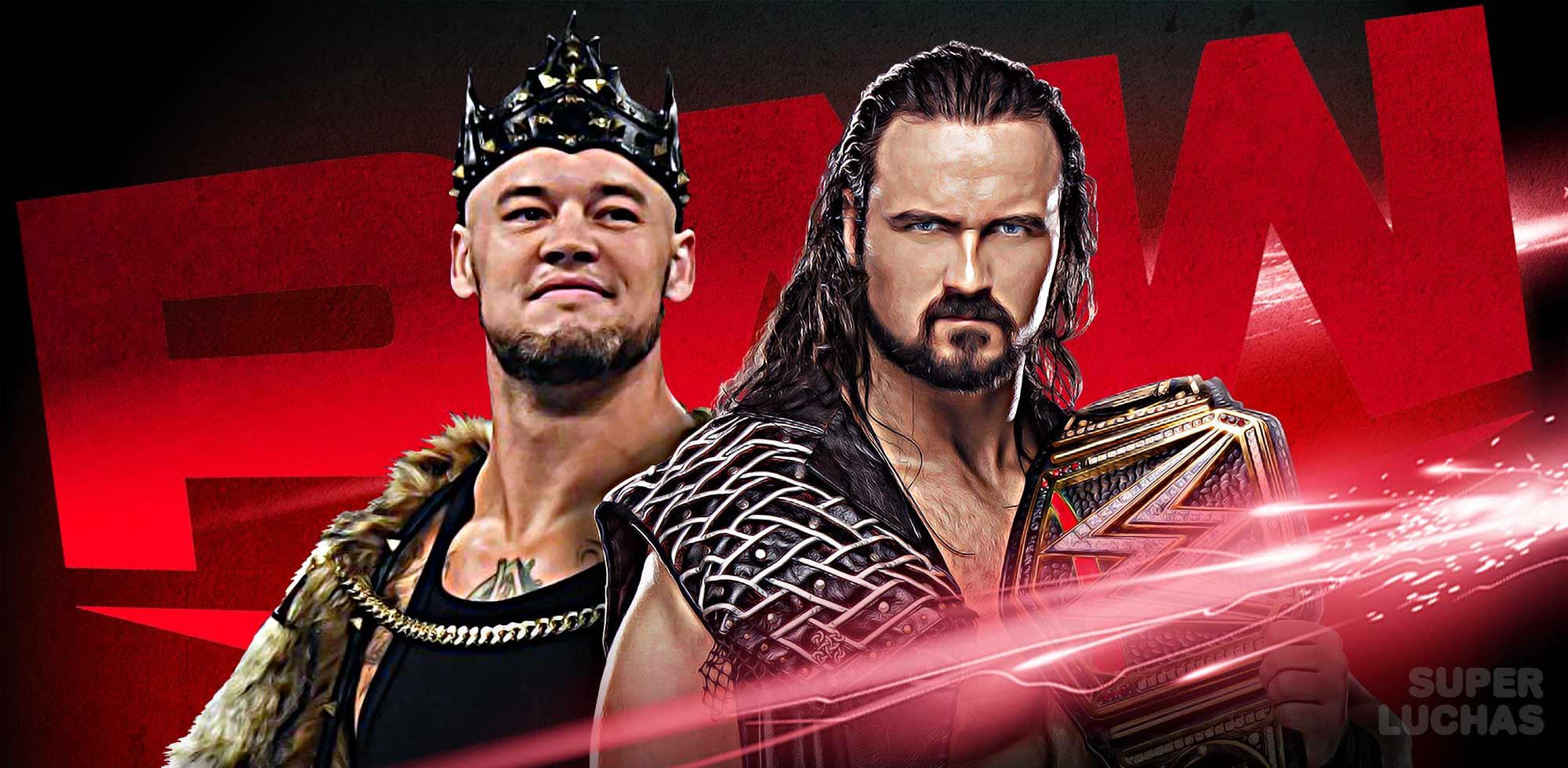 WWE RAW 18 de mayo 2020