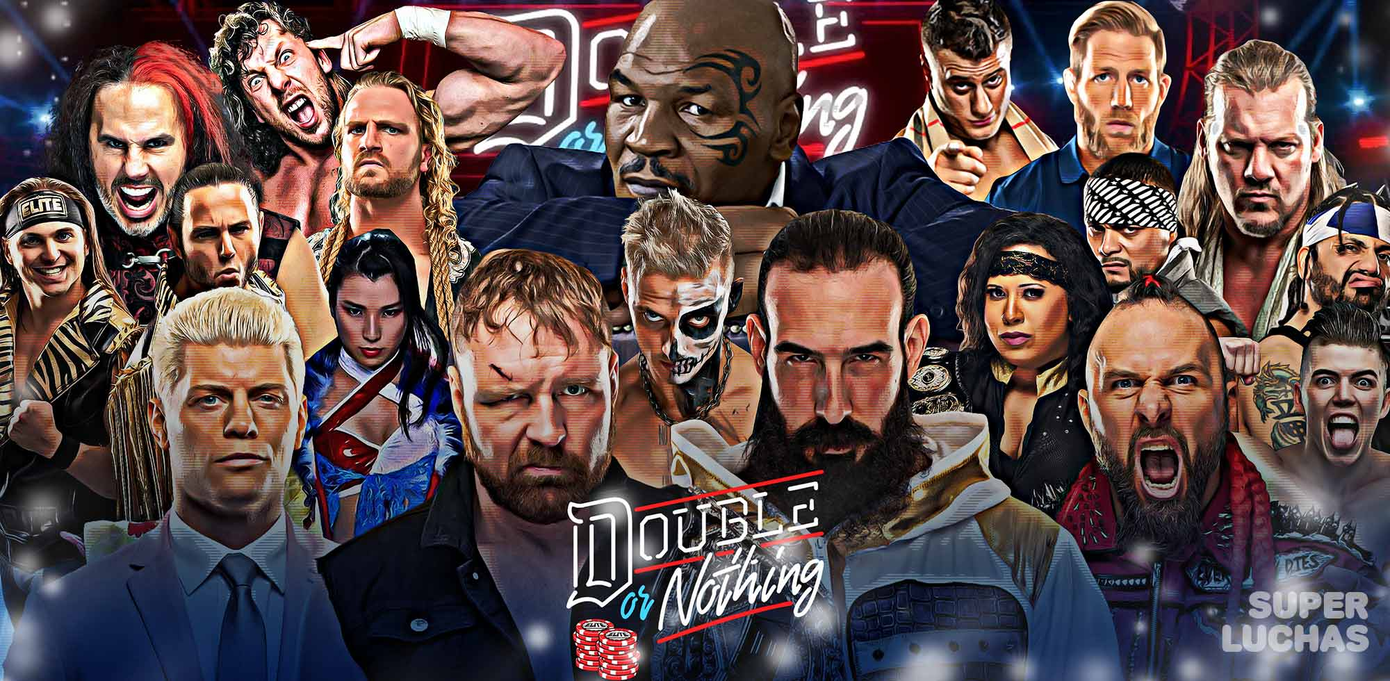 AEW DOUBLE OR NOTHING 2020 | Resultados en vivo