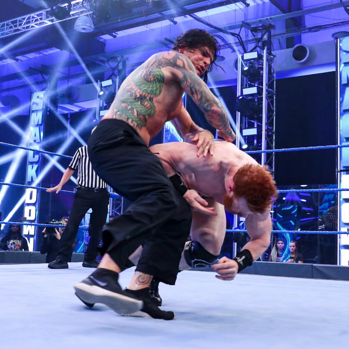 Jeff Hardy Jeff Hardy vs Sheamus