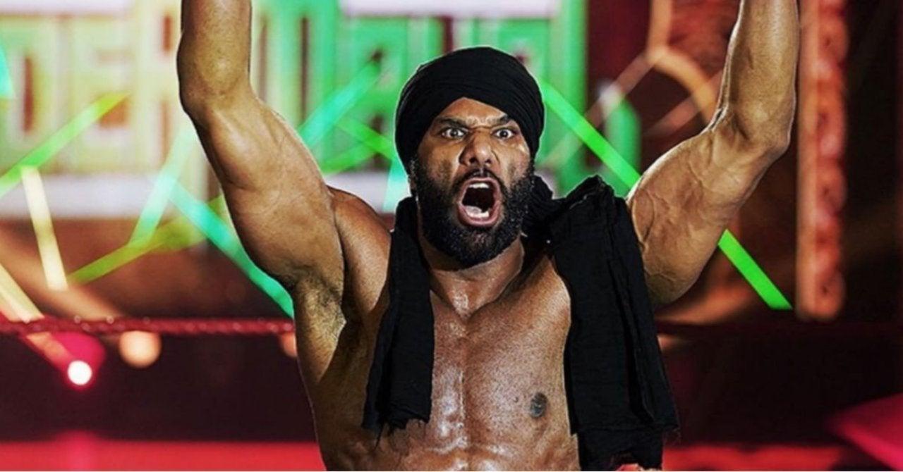 Jinder Mahal returned to Raw