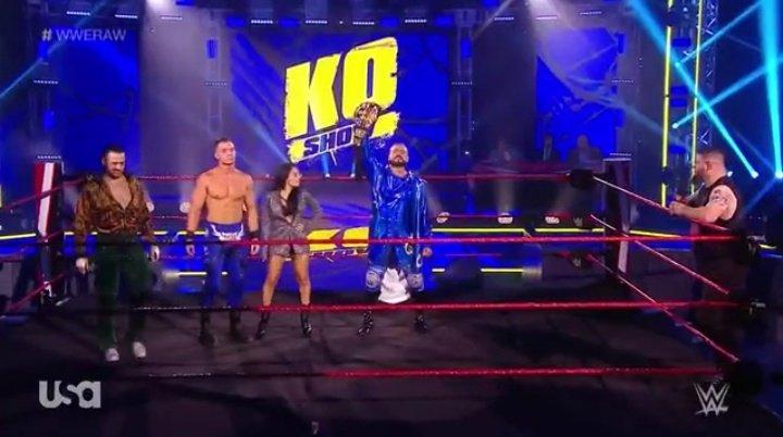 WWE RAW (18 de mayo 2020) | Resultados en vivo | King Corbin viene por Drew McIntyre 21