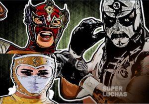 """AAA: """"Lucha Fighter AAA Live"""" Final, Pentagon Jr., Lady Shani y Dinastía, ganadores 1"""