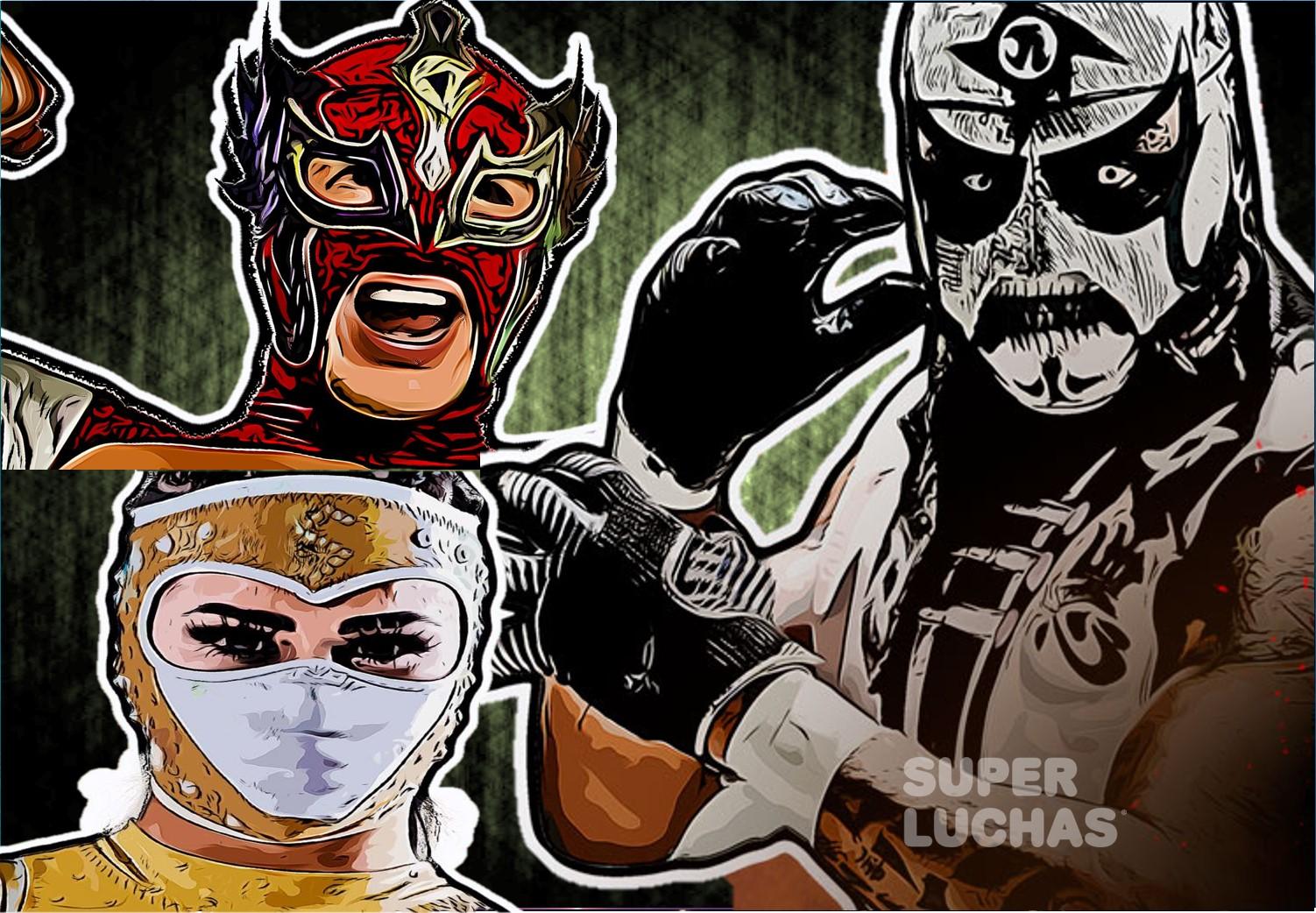 """AAA: """"Lucha Fighter AAA Live"""" Final, Pentagon Jr., Lady Shani y Dinastía, ganadores 3"""