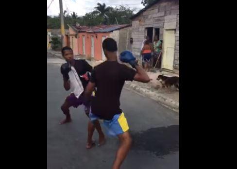 Joven murió en pelea callejera