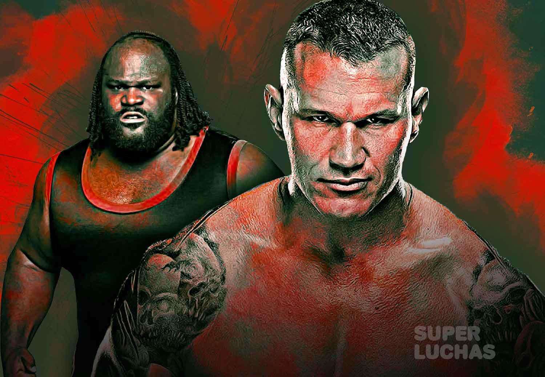 Randy Orton y Mark Henry