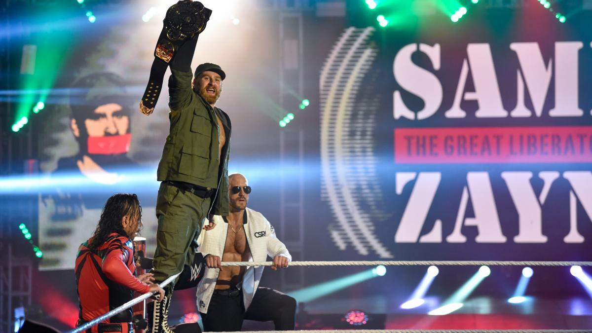 Sami Zayn Sami Zayn despojado del Campeonato Intercontinental
