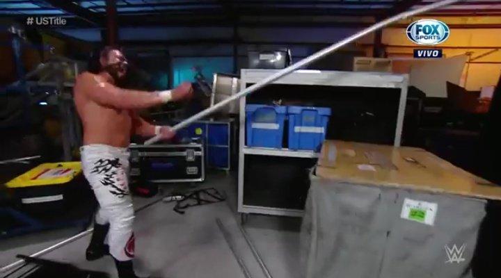 WWE RAW (25 de mayo 2020) | Resultados en vivo | Andrade vs. Apollo Crews 7 Apollo Crews NUEVO Campeón de los Estados Unidos WWE