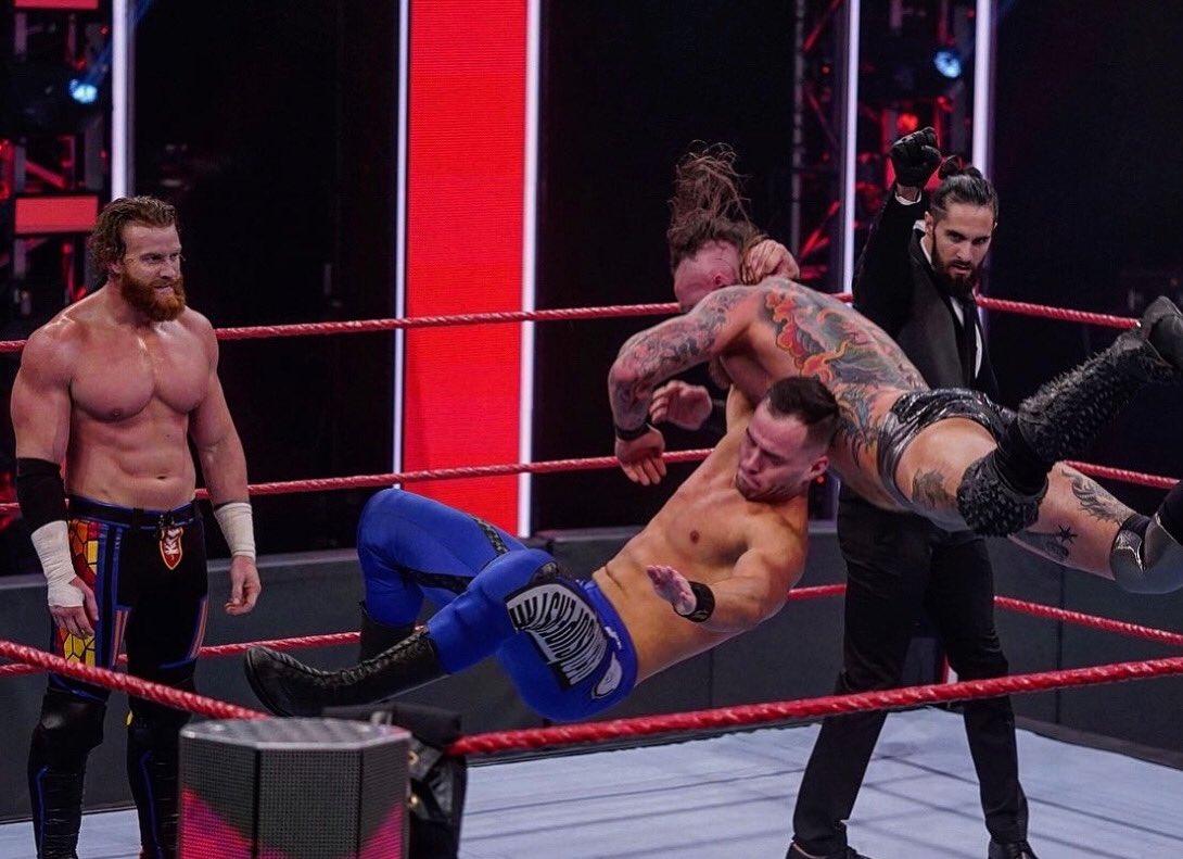 WWE RAW (18 de mayo 2020) | Resultados en vivo | King Corbin viene por Drew McIntyre 27