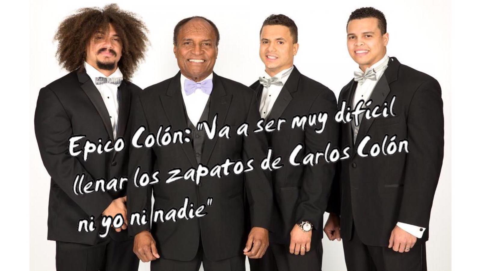 """Epico Colón: """"Va a ser muy difícil llenar los zapatos de Carlos Colón ni yo ni nadie"""" 13"""