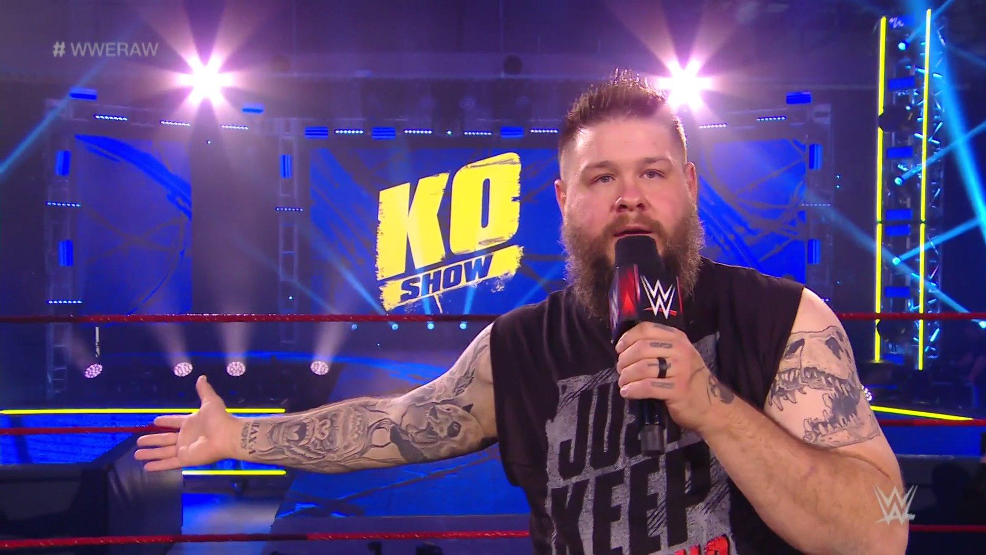 WWE RAW (18 de mayo 2020) | Resultados en vivo | King Corbin viene por Drew McIntyre 20