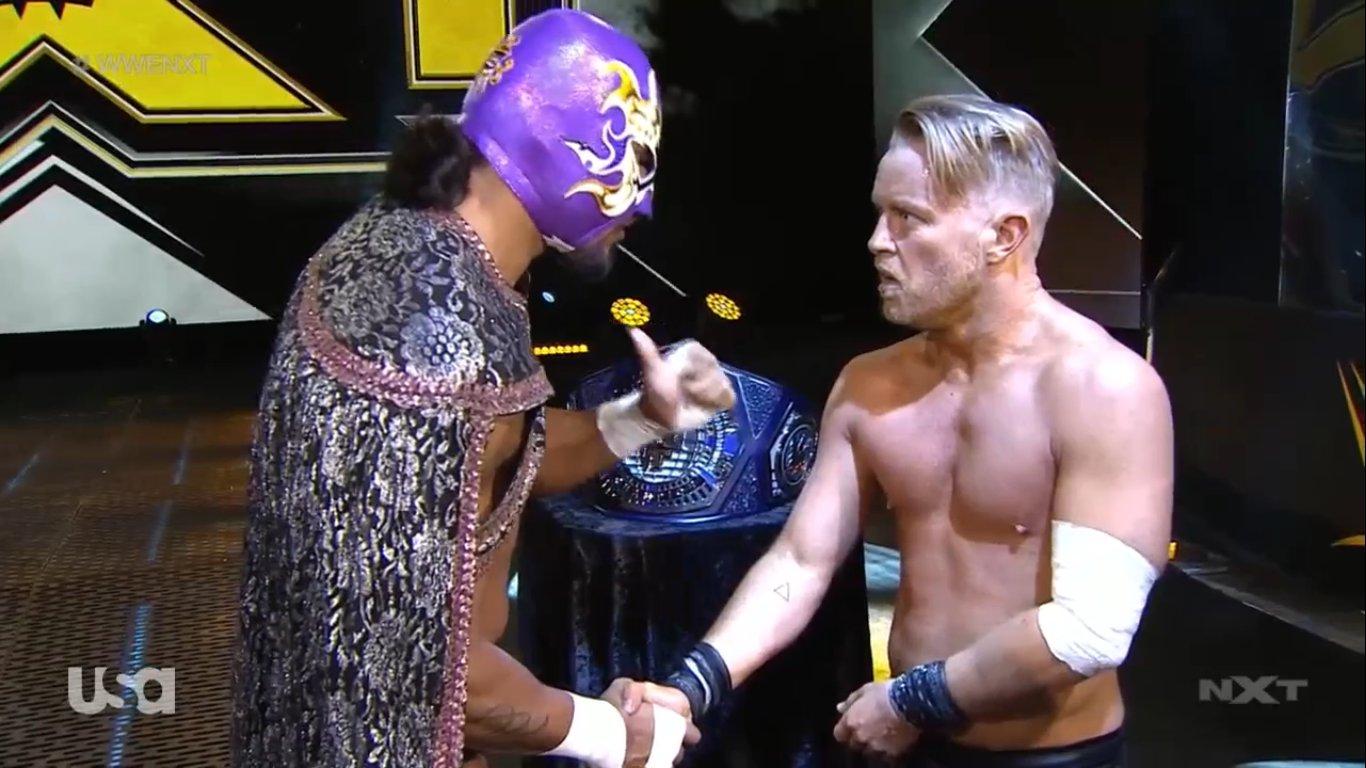 NXT (27 de mayo 2020)   Resultados en vivo   Matt Riddle vs. Timothy Thatcher 17