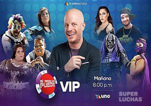 """""""Mi pareja puede VIP"""" se engalana con los luchadores de AAA 3"""