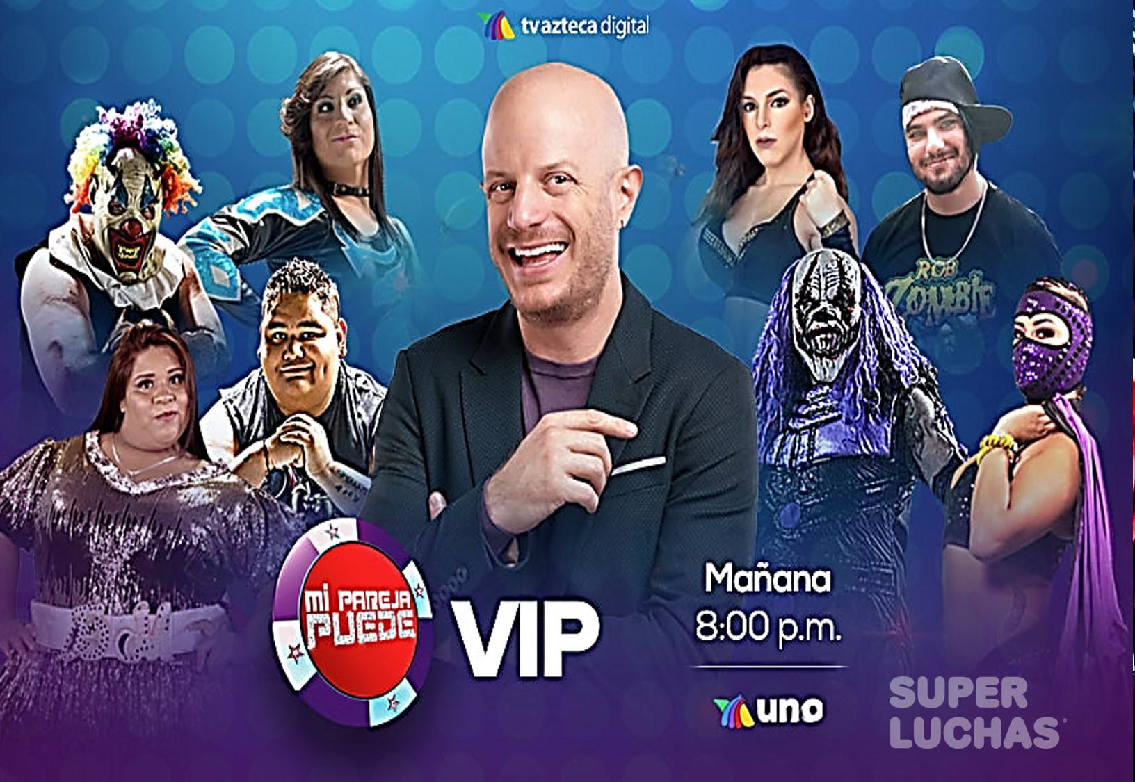 """""""Mi pareja puede VIP"""" se engalana con los luchadores de AAA 5"""