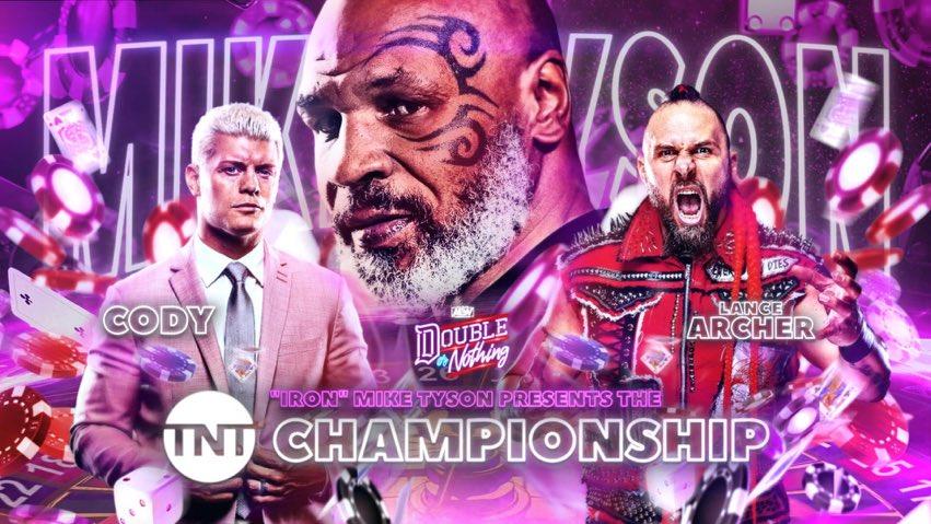 ¿Veremos el Campeonato TNT antes de AEW Double or Nothing? 1